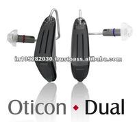 digital programmable hearing aid bte CE & FDA oticon dual