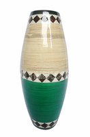 Eco-friendly bamboo with coconut vase