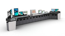 Modular Control Desk for Mission Critical Control Room Solutions