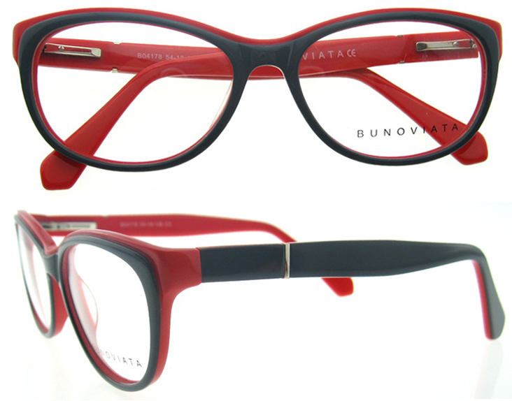 Wholesale Latest popular cat eye frame eyeglasses eyewear ...