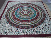 ROUND PRINTED INDIAN BEDSHEETS TAPESTRIES wholesale from india