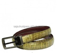 Crocodile leather belt for women SWCRB-001
