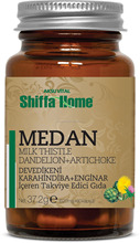 MEDAN Best Liver Protection Food Supplement with Milk Thistle Dandelion Artichoke Extract Mix