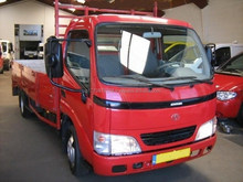 Used Toyota Dyna150 truck 5 TON 2.5D-4D 2008
