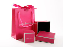 solid jewelry packaging with ribbon