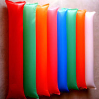 100x600mm mixed colors Rectangle Rubber Inflatable Stick