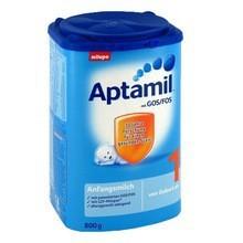 100% Ireland and Germany origined DANONE manufactured Aptamil all series skimmed milk powder,baby milk powder,powder milk