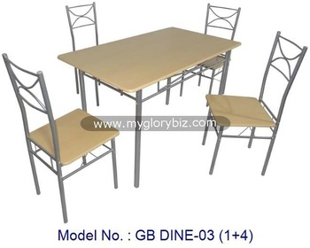metal home kitchen furniture in low price dining room furniture sets