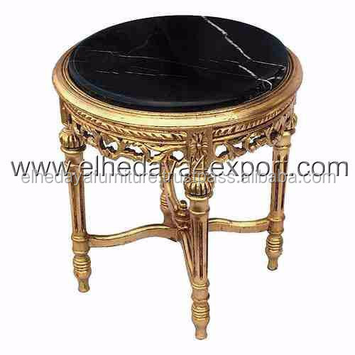 Buy Gold Coffee Table: Buy Baroque Golden Side Table