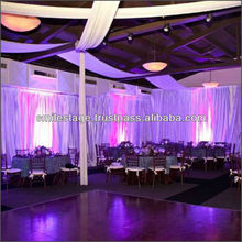 Wholsesale Aluminum Backdrop Stand Pipe Drape for wedding