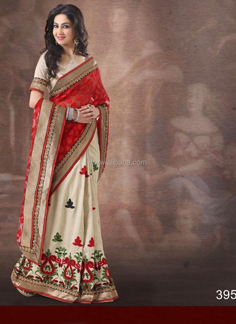 Indian Designer Bollywood Fashion Saree/sari - Wedding Bridal Sarees ...