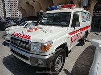2015 model Brand New Toyota Land Cruiser Hard Top Ambulance cars
