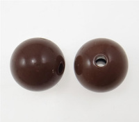 16mm brown Round Clearance Acrylic Beads