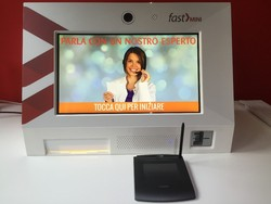 NEW! Video Station / Video Kiosk for Video Concierge Services / Video Receptionist with 1 Year Video Chat Service included