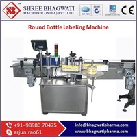 CE Certified Round Bottle Labeling Machine From India With Best Specification