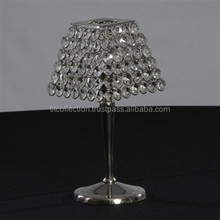 Table Centerpiece/Crystal Decor/Crystal T-light Holder, T-light holder votive/Lampshade