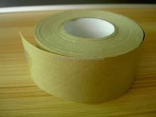 Reinforced gummed kraft paper tape