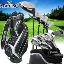 Spalding tour progrind NP-01 mensgolf clubs full set golf with caddie bag