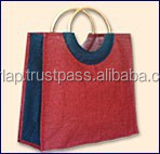 inexpensive personalized jute shoppings