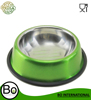 spray paint stainless steel pet feeding bowl