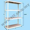 Simple Rack, Simple Metal Racks, Racking, Racks, TTF Storage Racking System