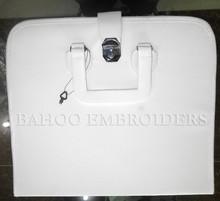 Massonico regalia custodia morbida bianco   massonico semi rigido valigetta bianco