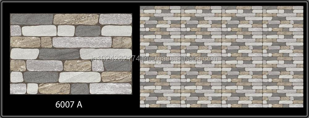 Elevation exterior wall tiles in india 300x450mm buy for Exterior tiles design india