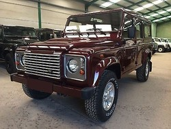 Used Land Rover Defender 110 - Left Hand Drive - Stock no: 12654