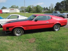 1971 FORD MUSTANG MACH 1 muscular clássico carro antigo