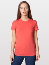 American Apparel Ladies' Organic Fine Jersey Tee - made from 100% organic fine jersey cotton and comes with your logo.