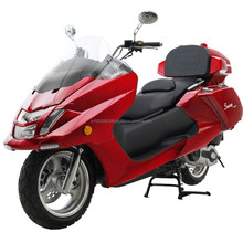 Top Quality 300cc Gas Motor Moped Touring Scooters Deluxe Moped