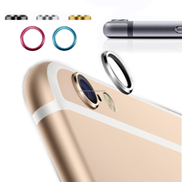 Wholesale Price Metal Rear Camera Lens Cover Protector Installed Ring Circle for iPhone 6 4.7
