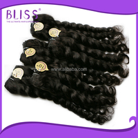 hair extension micro beads curly,wet and wavy indian remy hair weave,hair extension remy