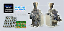 Fully automatic Multi Track form fill seal machine