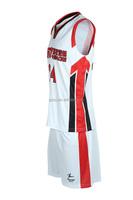 Healong Sublimation Transfer Best Design Basketball Kit Online India