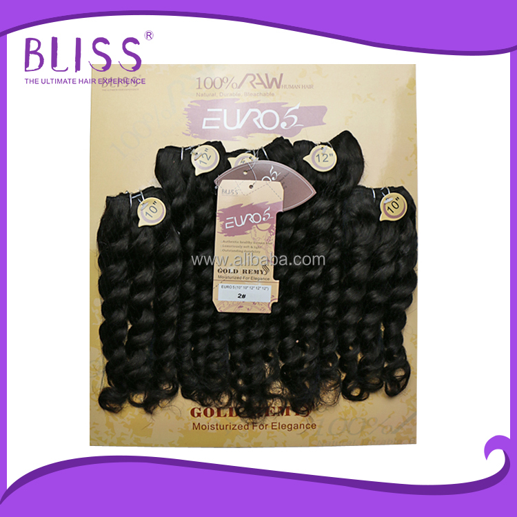 Pre Bonded Hair Extensions Curly 31