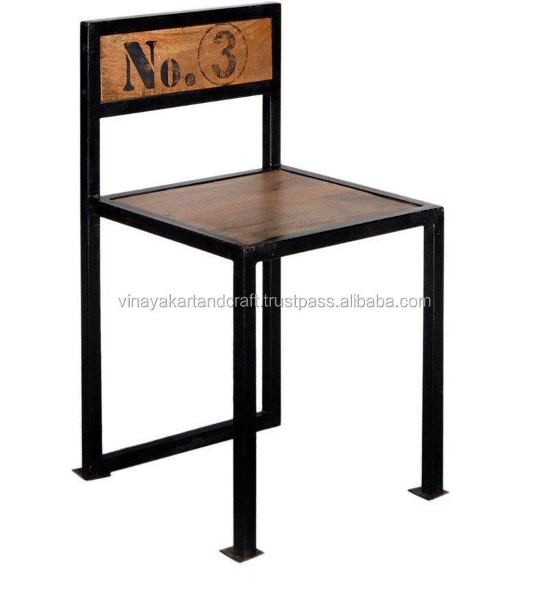 Industrial dining chair india industrial unique chair for Modern dining chairs india