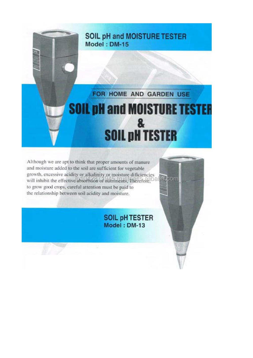 Takemura soil PH Meter tester DM-13 non electric Made in Japan