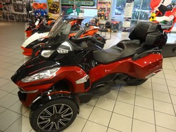 Promotional Sales On 2015 CAN-AM SPYDER RT-S SPECIAL SERIES 6-SPEED SEMI-AUTOMATIC (SE6)