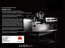 Teapresso Machine (Tea, Coffee, Milk Foam, Hot Water & Steamer)
