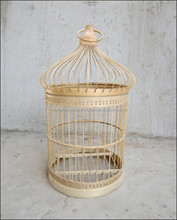 Bamboo bird cage for pets made in vietnam, high quality natural bird cage eco-friendly in use