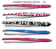 Eyebrow Tweezers, Soft Touch Eyebrow Tweezers