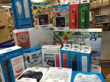 Japanese major brand sony game console with great and air bag packaging