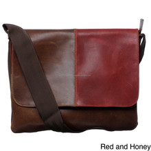 Leather Flap-top Women Messenger Bag