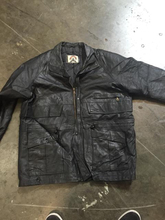 LEATHER JACKET MIX--USED, GRADE 1