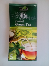 Stevia Dry Leaves With Green Tea in Sachet Packing
