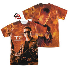 New customized sublimation t-shirt / all over sublimation printing t-shirt / dye sublimation t-shirt printing