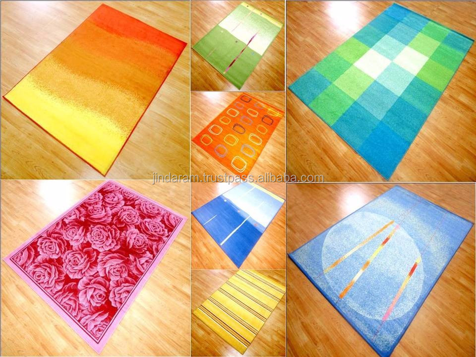 Cheap acrylic bedside carpets with latexed backing exporters.JPG
