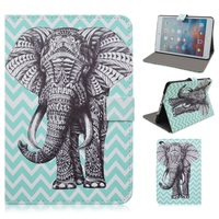 lovely Elephant Folio Stand Smart Leather Tablet case Cover for iPad Mini 4