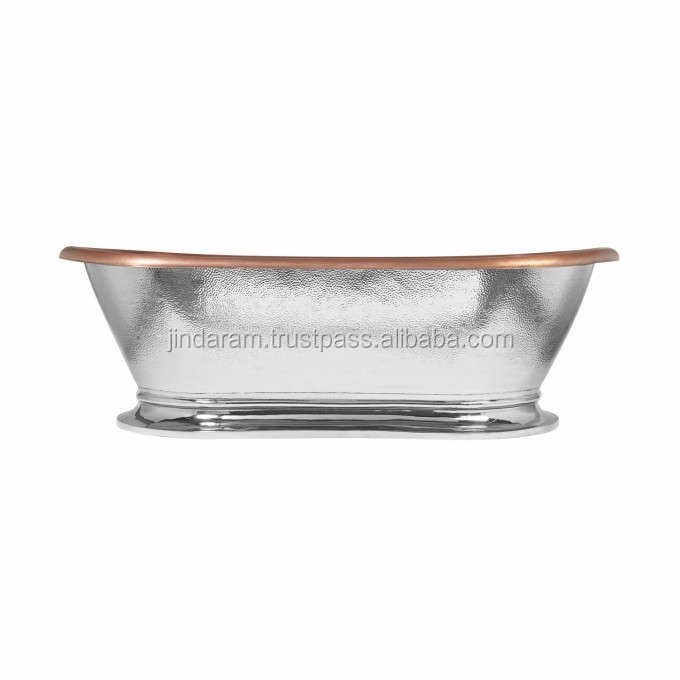 Silver Finish Copper Bath Tub.jpg
